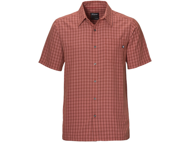 Marmot Eldridge Camisa Manga Corta Hombre, picante